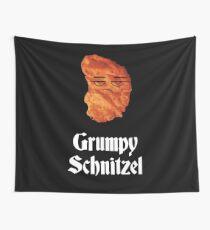 Grumpy Schnitzel Oktoberfest T-Shirt - Funny Bavarian Tee Wall Tapestry