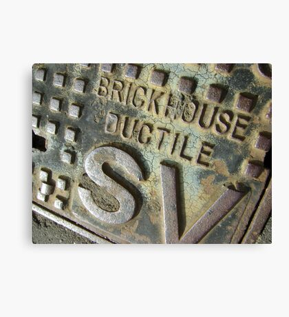 Brickhouse Ductile Canvas Print