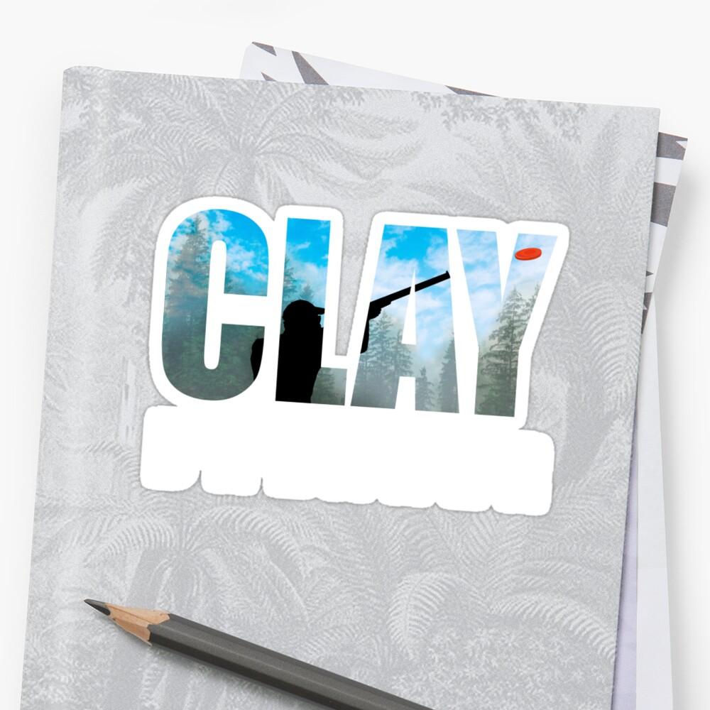 Clay Breaker - Clay Pigeon Shooting Shot Gun Skeet Trap Target Gifts by Shoppy Vista
