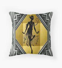 Art Deco Flapper Roaring 20er Jahre Gatsby Style Print Dekokissen