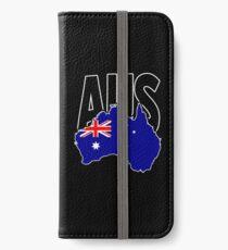 Australia continent iPhone Wallet/Case/Skin