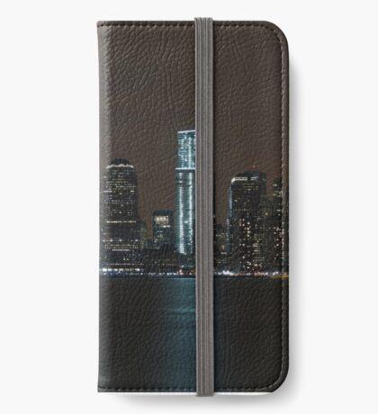 New York Skyline iPhone Wallet