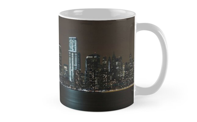 New York Skyline by Obsessive Coffee Disorder