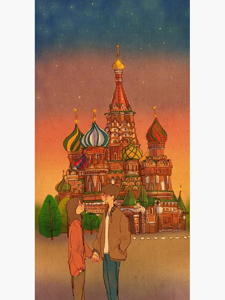 St. Basil's Cathedral, Red Square, Moscow, Russia by puuung1