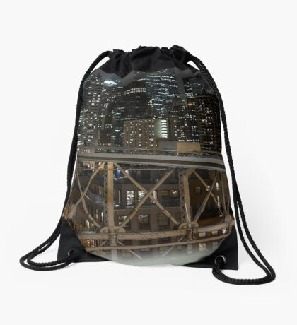 Jungle of Steel Drawstring Bag