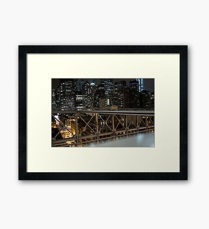 Jungle of Steel Framed Print