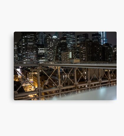 Jungle of Steel Canvas Print