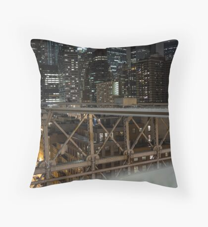 Jungle of Steel Throw Pillow