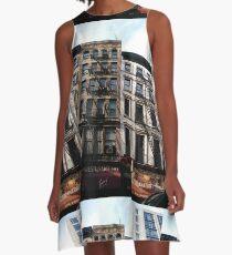New York City, #New #York #City, #NewYorkCity, #NewYork, #НьюЙорк A-Line Dress