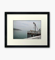 Malibu Pier Framed Print