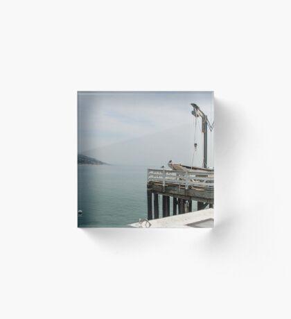 Malibu Pier Acrylic Block