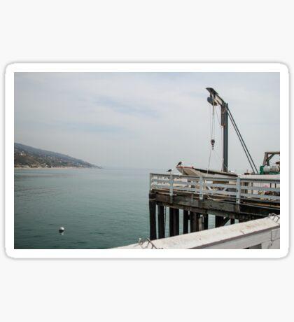 Malibu Pier Sticker