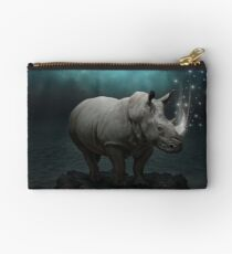Power Is No Blessing In Itself v.2 (Protect the Rhino)  Studio Pouch