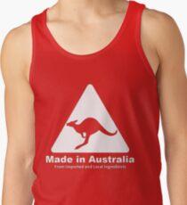 Made in Australia (White) Tank Top