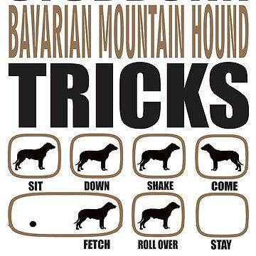 Stubborn Bavarian Mountain Hound Tricks T shirt Perfect Gift For Bavarian Mountain Hound Dog Lovers by funnyguy
