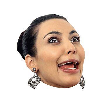 Funny Kim Kardashian  by ValentinaHramov