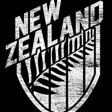 New Zealand fan by GeschenkIdee