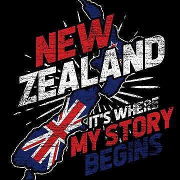 New Zealand Backpack by GeschenkIdee