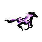 Cosmic Horse by chuzzelpuff