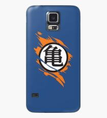 Symbole déchiré par Goku Kame Coque et skin Samsung Galaxy
