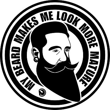 My beard makes me look more mature by netrok