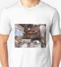 Show Is Over Due To Cockeyed Perspective Unisex T-Shirt
