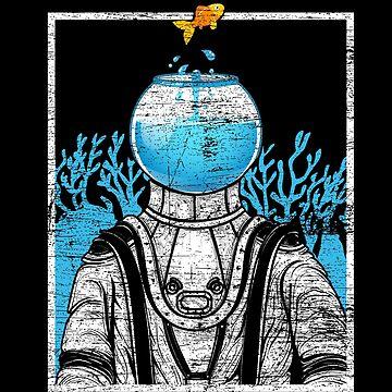 Astronaut aquarium by GeschenkIdee