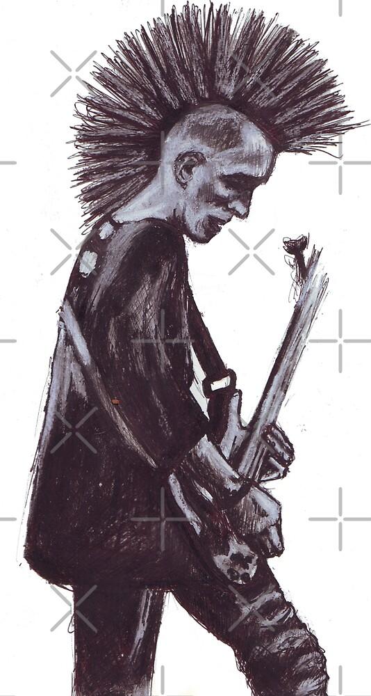 Guitar Punk by DreddArt