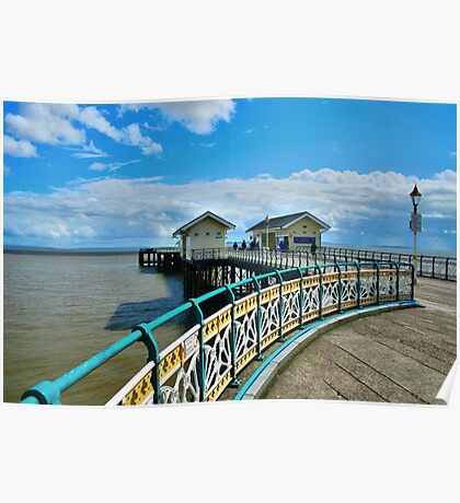 The Pier at Penarth Poster