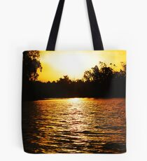 Murray River Sunset Tote Bag