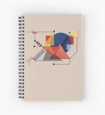 Bauhaus Art Deco Spiralblock