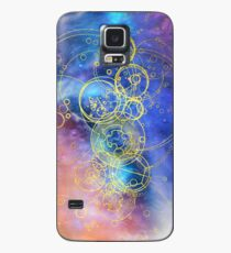 Funda/vinilo para Samsung Galaxy Time Lord Writing (XIII doctora Jodie Whittaker)