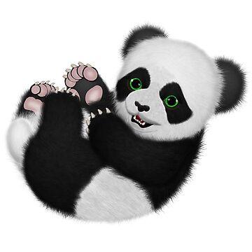 Baby Panda Bear by ratherkool