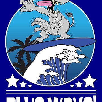 Blue Wave 2018 Democrat Midterm Election by bsanczel
