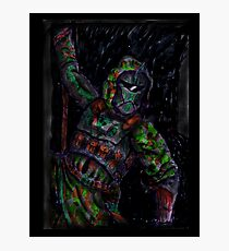 Furtistic Warrior - Shadow Photographic Print