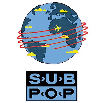 Sub Pop Records by DivDesigns