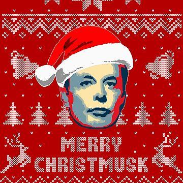 Merry Christmusk Elon Musk Christmas Parody by idaspark
