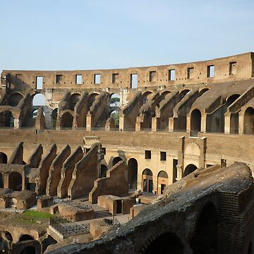 The Colloseum bathed in morning light by Audryn