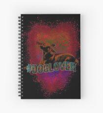 #doglover Spiral Notebook