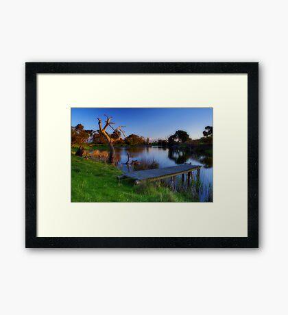 """Morning Serenity"" Framed Print"