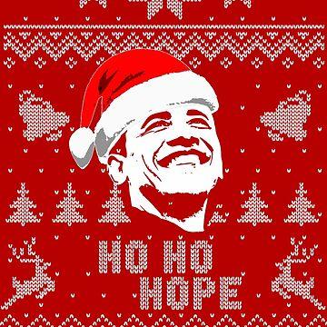 Barack Obama Hope Christmas Shirt by idaspark