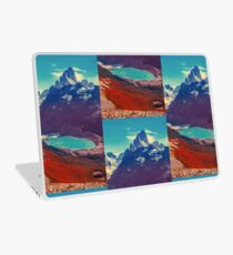 Psychedelic mountain Laptop Skin