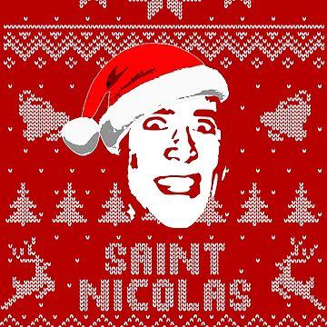 Saint Nicolas Parody Christmas Shirt by idaspark