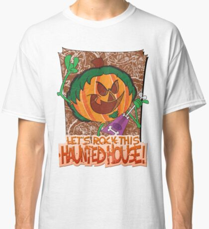 Halloween T-Shirt 2009 - Lets Rock This Haunted House Classic T-Shirt