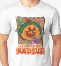 Halloween T-Shirt 2009 - Lets Rock This Haunted House Unisex T-Shirt