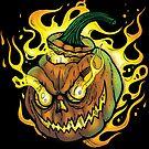 Possessed Jack O' Lantern by celthammerclub