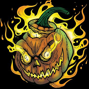 Possessed Jack O' Lantern by celthammerclub