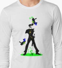 Johnny Blue-gloves: Transparent Assassin T-Shirt
