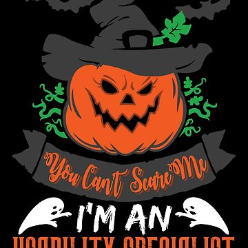 Halloween T-Shirts & Gifts: You Can't Scare Me I'm an Usability Specialist by wantneedlove