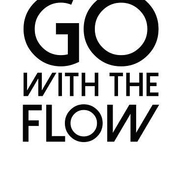 Go With The Flow by Sandyram